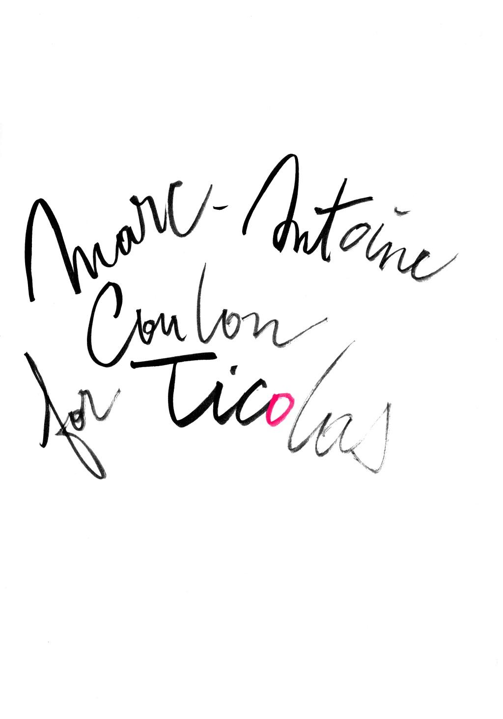 Marc-Antoine Coulon pour Ticolas logo003b